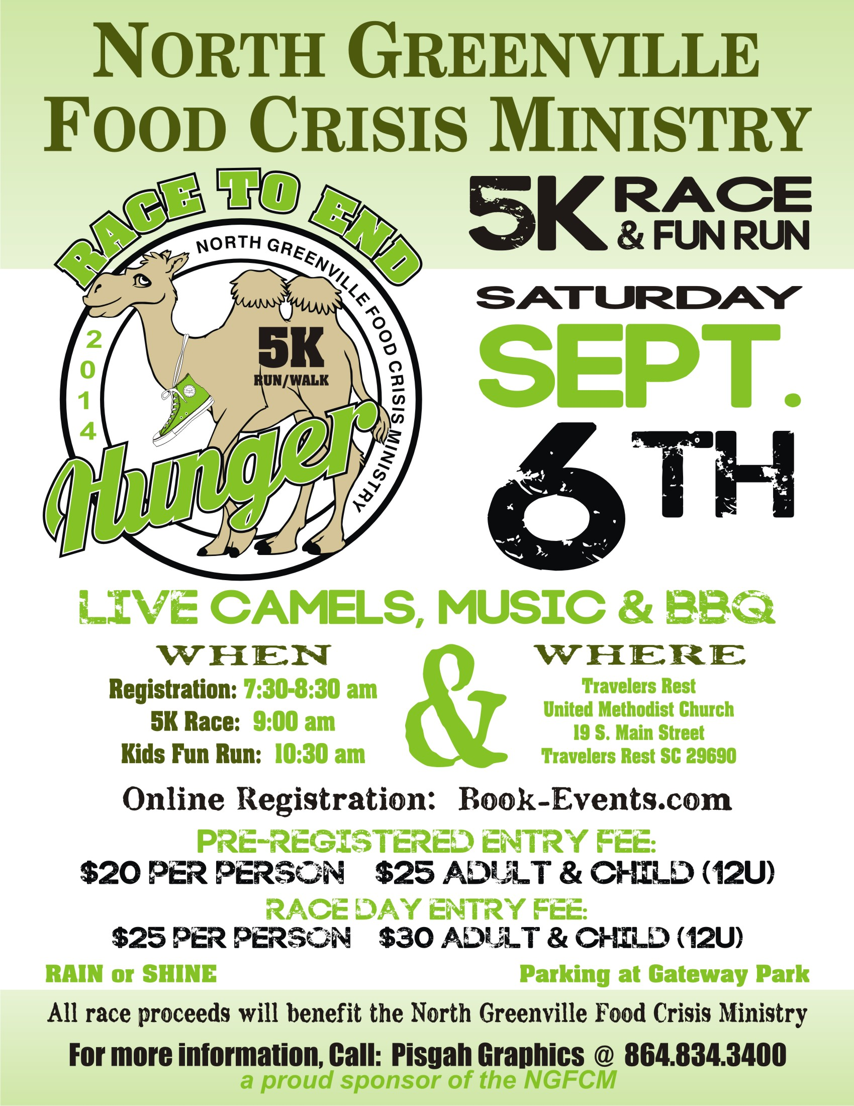 Food Crisis Ministry to hold inaugural 'Race to End Hunger' Saturday