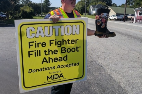 Glassy Mountain FD raises $3,300 for Muscular Dystrophy Assoc.