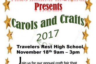 11/18/17 (Saturday) - Travelers Rest High School: Carols and Crafts