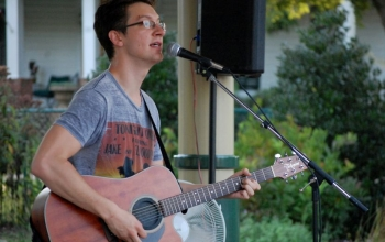 Music in the Park kicks back off Saturday with local favorite Jacob Johnson