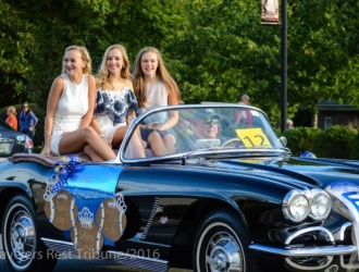 09/28/17 (Thursday) - Travelers Rest: Travelers Rest High School Homecoming Parade (6 p.m.)