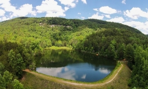 Ashmore Heritage Preserve's picturesque Lake Wattaccoo