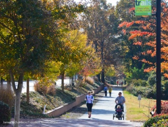 Swamp Rabbit Trail nominated for Rail-Trail Hall of Fame