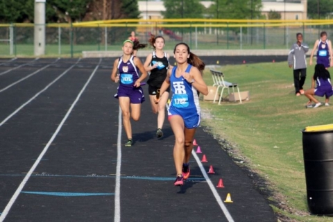 Travelers Rest girl's track & field rides wave of youth