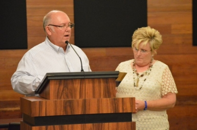 Mayor McCall proclaims 'Dystonia Awareness Month' in Travelers Rest
