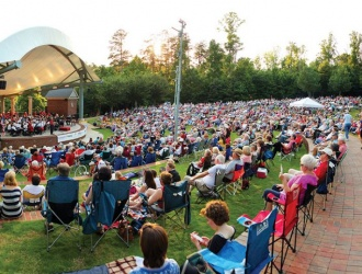 Furman's summer lakeside concert series gets underway