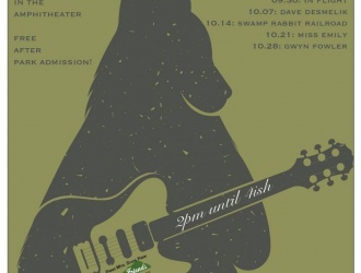 10/28/17 (Saturday) - Paris Mountain State Park: Music in the Woods with Gwyn Fowler