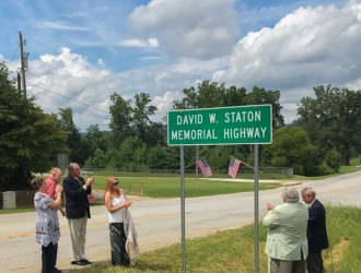 Section of Tigerville Road named in honor of area veteran killed in Vietnam