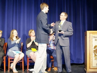 Lipscomb named Student of the Year at annual TRHS senior awards presentation