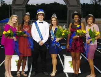 Photos: Travelers Rest High School Homecoming Ceremony