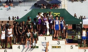 Devildog girls track finishes eighth at state