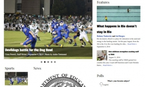 Travelers Rest High School's 'Blue and Gold' newspaper launches online edition