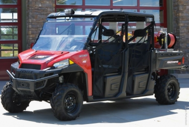 Private, government partnership funds fire department ATV