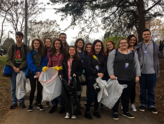 Photos: Travelers Rest High School Beta Club community service week