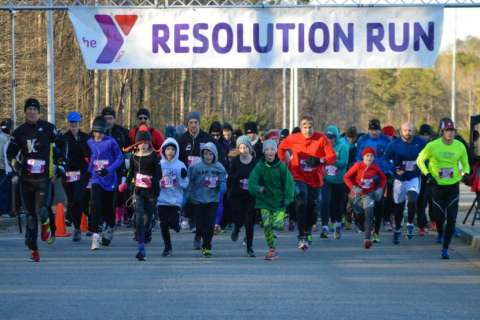Photos/Video/Results: 12th Annual Resolution Run