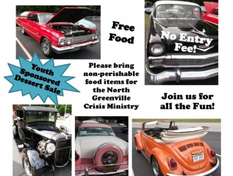 06/02/17 (Friday) - Reedy River Baptist Church: 11th Annual Reedy River Cruise-in (5:30 pm)