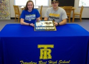 Photos: Rohrer, Gillespie sign letters of intent