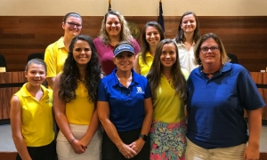 Travelers Rest honors SC High School Ladies Golf Coach of the Year