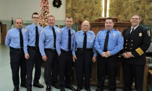 Glassy Mountain FD honors firefighters
