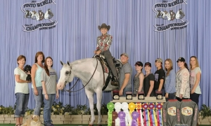 Travelers Rest equestrian earns high honors at Pinto World Championship Show