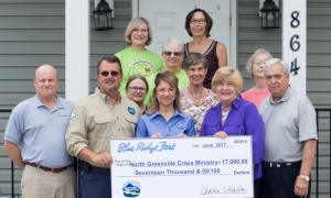 North Greenville Crisis Ministry receives $17K from Blue Ridge Fest proceeds