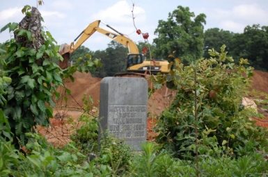 Geological survey reveals unmarked graves at development site