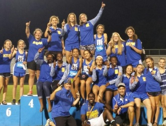 Travelers Rest girl's track & field team wins conference championship