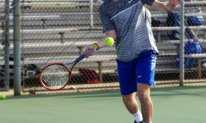 Photos: Devildog tennis team edges Eastside