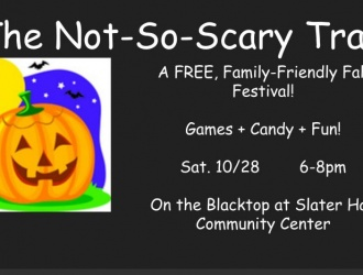 10/28/17 (Saturday) - Slater Hall: The Not-So-Scary-Trail
