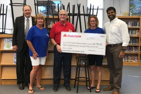State Farm grant promotes safe driving for area high school students