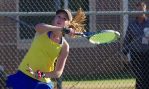 Photos: Lady Devildog tennis team advances in playoffs
