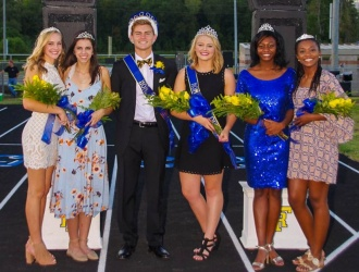 Photos: Travelers Rest crowns homecoming king, queen