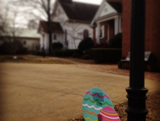 Community Easter egg hunt along Main Street in Travelers Rest through April 5