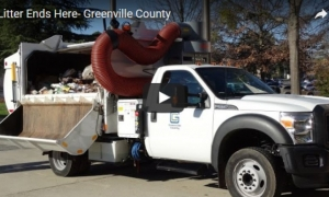 Greenville County announces 'Litter Ends Here' program
