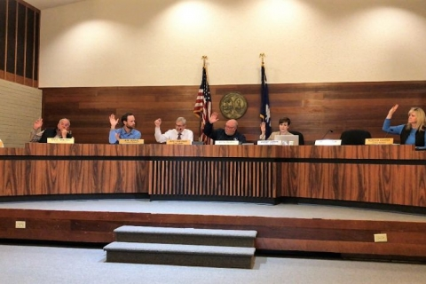 Travelers Rest councilmembers approve first votes on new city hall, police department