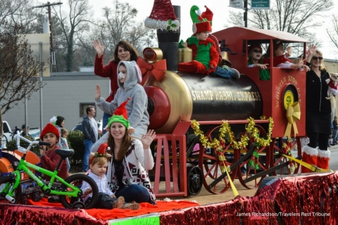 Throwback: Photos from the 2015 Travelers Rest Christmas Parade