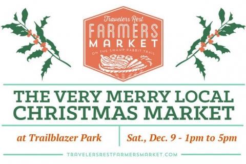 12/09/17 (Saturday) - Trailblazer Park: The Very Merry Local Christmas Market