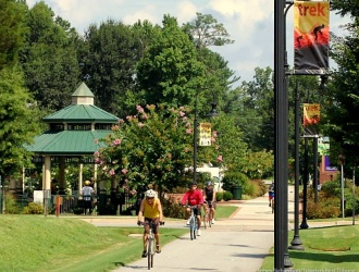 Swamp Rabbit Trail wins national 'Great Places' honor